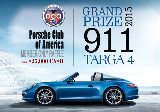 the pca member only spring raffle is now open