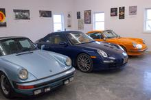 Happiness is a Garage Full of Porsche's